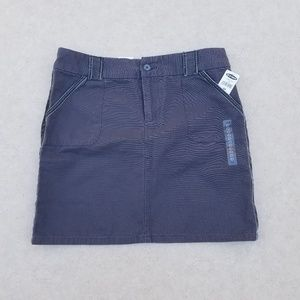 OLD NAVY Charcoal Gray Skirt Size 10